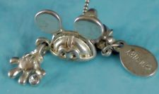 """Buy Pendant : Sterling 10k GP Disney Signed SK Mickey Mouse Ears & Glove - 16"""" Chain"""