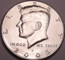 Buy United States Unc 2005-D Kennedy Half Dollar~Free Shipping