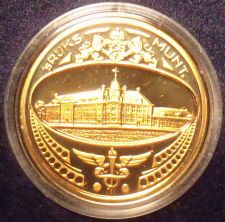 Buy Netherlands 1982 Proof Set Medallion~Only 10,000 Minted~Free Shipping
