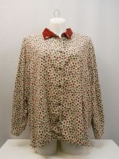 Buy Bobbie Brooks Women's Shirt Size 26W/28W Long Sleeves Collared Neck Button Down