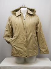 Buy SIZE L Womens Ultimate Parka TUDOR COURT Beige Faux Fur Removable Hood Lined