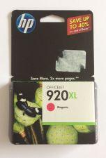 Buy 920 XL MAGENTA ink jet HP OfficeJet 6000 6500 7000 printer CD973AN cartridge red