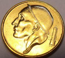 Buy Gem Unc Belgium 1992 50 Centimes~Helmeted Mine Worker~Free Shipping