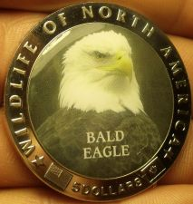 Buy Proof Liberia 2000 $5.00~Multi-Colored Bald Eagle~Excellent~Free Shipping