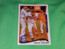 Buy MLB Brian Dozier Minnesota Twins Superstar 2014 TOPPS BASEBALL GD-VG