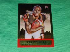 Buy NFL Jeremy Hill Cincinnati Bengals 2014 Topps Chrome Mini Rookie Insert Mnt