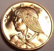 Buy Rare Proof Panama 1972 Centesimo~Only 13,332 Minted~Uracca~Free Shipping~