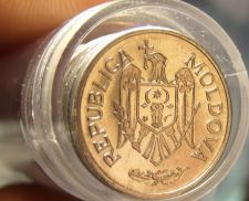 Buy Gem Unc Roll (40) Moldova 2010 10 Bani~Forty Unc Coins~Excellent~Free Shipping
