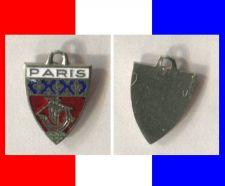 Buy PARIS Enamel & Silver Travel Shield Souvenir Charm #20255