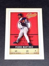 Buy MLB PEDRO MARTINEZ RES SOX SUPERSTAR 2002 FLEER #12 GD-VG