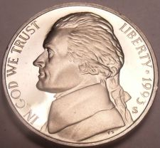 Buy SCARCE 1993-S PROOF JEFFERSON NICKEL~THE BEST COINS~F/S