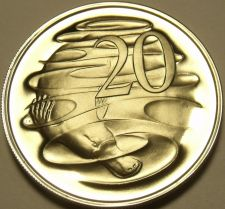 Buy Rare Proof Australia 1975 20 Cents~Duckbill Platypus~23,000 Minted~Free Shipping