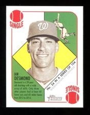 Buy 2015 TOPPS HERITAGE 51 COLLECTION RED BACK IAN DESMOND, #24