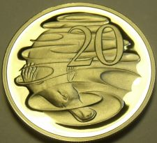 Buy Cameo Proof Australia 1982 20 Cents~Duckbill Platypus~100,000 Minted~Free Ship