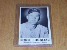 Buy VINTAGE 1960 SPORTS NOVELTIES GEORGE STRICKLAND #30 GD-VG