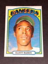 Buy VINTAGE ELLIOTT MADDOX RANGERS 1972 TOPPS #277 GD-VG