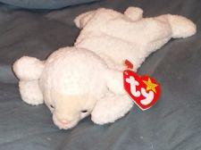 Buy RETRO ORIGINAL TY BEANIE BABY PLUSH FLEECE BABY LAMB COLLECTIBLE NICE