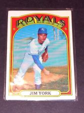 Buy VINTAGE JIM YORK ROYALS 1972 TOPPS #68 GD-VG