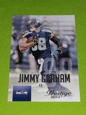 Buy NFL 2015 PANINI PRESTIGE JIMMY GRAHAM SEAHAWKS SUPERSTAR #14 MNT