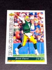Buy NFL BRETT FAVRE PACKERS HOF 1993 UPPER DECK #360 GD-VG