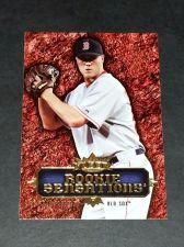 Buy MLB JOHNATHAN PAPLEBON RED SOX 2007 FLEER ROOKIE SENSATIONS INSERT GD-VG
