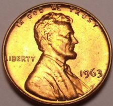 Buy United States Unc 1963-P Lincoln Memorial Cent~Free Shipping