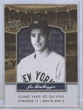 Buy MLB Joe DiMaggio 2008 Upper Deck Yankee Stadium Legacy MNT