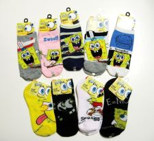 Buy Nickelodeon NEW Spongebob Squarepants Collection Socks Selections 4-6 6-8 9-11