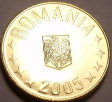 Buy Gem Brilliant Uncirculated Romania 2005 1 Bani~Free Shipping