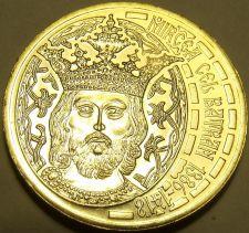 Buy Rare Gem Unc Romania 2011 50 Bani~Incredible Details~King~Mircea The Great~Fr/sh