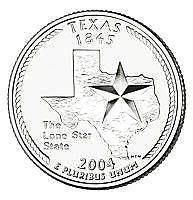 Buy 2004-D TEXAS BRILLIANT GEM UNC STATE QUARTER~FREE SHIPPING~WE HAVE STATE QUARTER