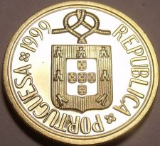 Buy Rare Proof Portugal 1999 1 Escudo~Only 7,000 Minted~Faantastic~Free Shipping