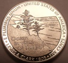 Buy United States Gem Proof 2005-S Jefferson Ocean In View Nickel~Free Shipping