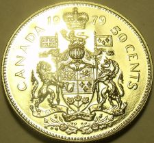 Buy Proof Canada 1979 50 Cents~We Have Proof Coins~Queen Elizabeth~Free Shipping