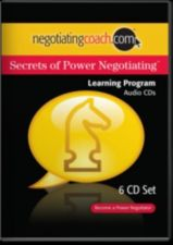 Buy new - Secrets of Power Negotiating negotiating coach 9 audio CD's in 3 box set