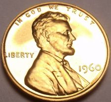Buy United States Proof 1960 Cent~See Why Proofs Are Best Coins~Free Shipping