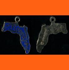 Buy F Sterling & Enamel Florida Souvenir Map Charm