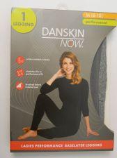 Buy Danskin Now Gray Ladies Performance Baselayer Leggings Size M 8-10 Tagless