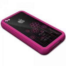 Buy XtremeMac iPhone 4 Pink Microshield Tatu Silicone Case