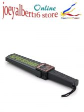 Buy Hand Held Metal Detector - Audio, LED and Vibration Alert, Ergonomic Design, Ene