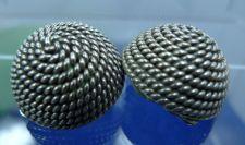 Buy Clip Earrings : Vintage Sterling Silver Snug Clips : Circle Of Rope :