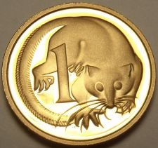 Buy Cameo Proof Australia 1989 Cent~Feather-Tailed Glider~100,000 Minted~Free Ship