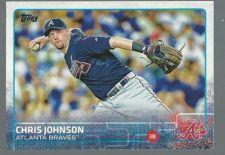 Buy 2015 Topps Series 1 Baseball #283 Chris Johnson Atlanta Braves