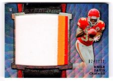 Buy NFL 2013 BOWMAN STERLING REFRACTOR KNILE DAVIS 3-COLOR PATCH /171 RARE MNT