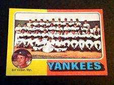 Buy VINTAGE NEW YORK YANKEES 1972 TOPPS TEAM CARD #611 GD-VG
