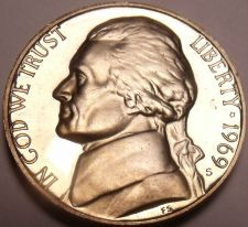 Buy Gem Proof 1969-S Thomas Jefferson Nickel~See All Our Proof Jeffersons~Free Ship