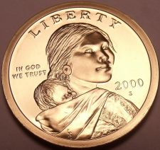 Buy United States 2000-S Sacagawea Cameo Proof Dollar~Free Shipping