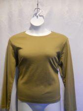 Buy Whitestag Tee Scoop Neck Long Sleeve Teal or Khaki Tee Top Size xL 16/18