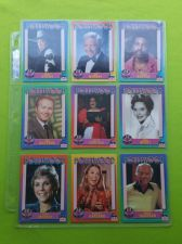 Buy VINTAGE LOT OF 9 1991 STARLINE HOLLYWOOD SUPERSTAR COLLECTORS CARDS LOT #7 GD-VG