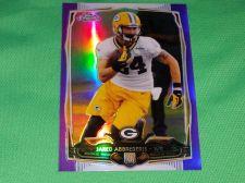 Buy NFL Jared Abbrederis Packers 2014 Topps Chrome Purple Refractor Mnt